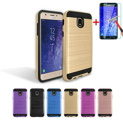 For TracFone Samsung Galaxy J7 Crown (S767VL) Case Cover Armor Slim Hybrid  | eBay