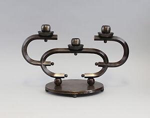7933016-3-bruleurs-Designer-Chandelier-Fer-de-fonte-bronze