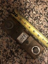 Vintage Weston 750 Amp 50mv Shunt Current Meter Electrical Test Equipment