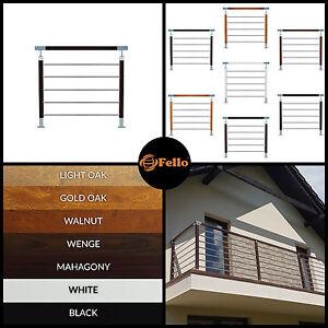 FELLO Stainless Steel Railing Balustrade Balcony Handrail Fence Ready Kit Best