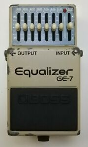 BOSS-GE-7-Equalizer-Guitar-Effects-Pedal-1990-207-made-in-Japan-Free-Shipping