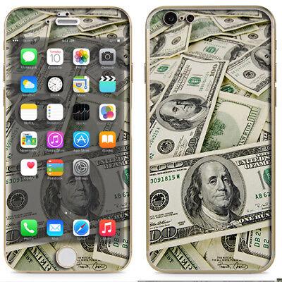 Skin Decal for Otterbox Defender iPhone 6 PLUS Case Cash Money Benjamins