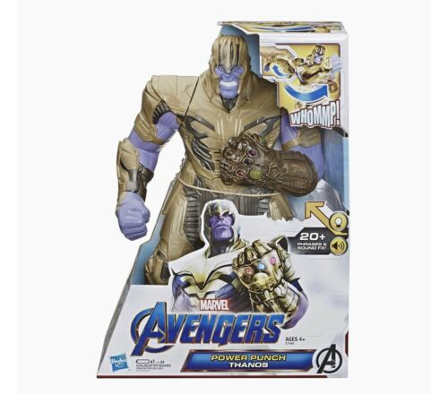 New in Box THANOS Avengers fonctionnalité Hero Power Punch