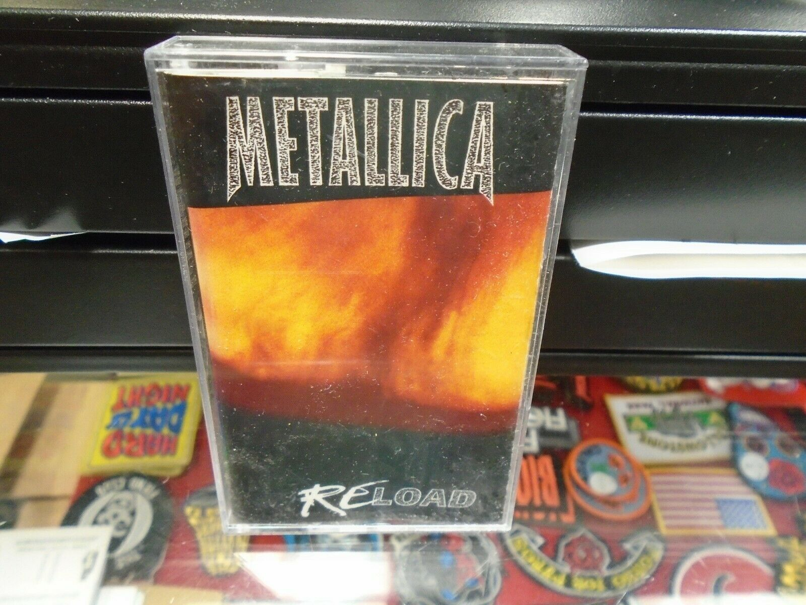 Reload by Metallica (Cassette, Nov-1997, Elektra (Label)) for sale ...
