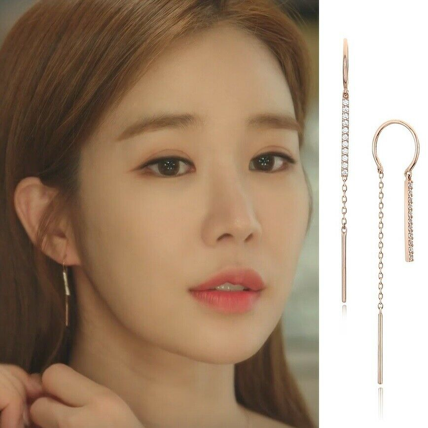 STONE HENGE I0139 EARRINGS Whats wrong with secretary kim Touch Your Heart Korea
