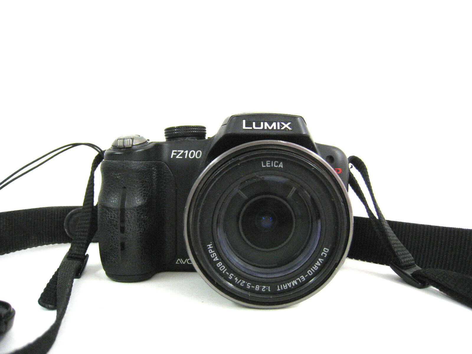 Panasonic Lumix DMC-FZ100 Shock Absorbing 44 Inch Classic Neoprene Strap by Digital Nwv Direct Micro Fiber Cleaning Cloth