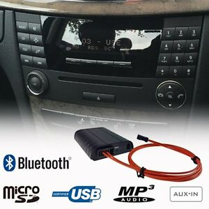 Bluetooth Adapter A2DP Handsfree USB SD AUX Benz C Class ...