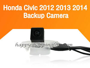car rear view camera for honda civic 2012 2013 2014 back up reverse cameras ebay. Black Bedroom Furniture Sets. Home Design Ideas