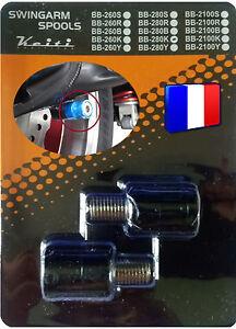2-Diabolos-anodises-Noirs-pour-bequille-stand-atelier-Honda-Suzuki-KTM