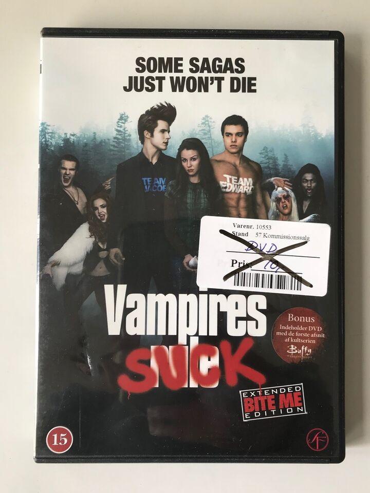 Vampires Suck, DVD, komedie