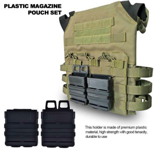 FMA Tactics Fast Mag Pouch Set Holster 7.62 Magazine Mag Double Molle System FA