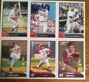 2011 Topps Johnny Bench #191 Baseball Card