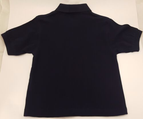 Sizes 5-8 Years British Country Collection Navy Printed On The Farm Polo Shirt