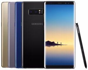 Samsung Galaxy Note 8 N950U SM-N950U 64GB (Factory Unlocked CDMA + GSM) Shadow