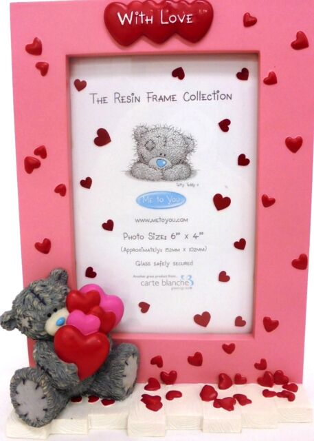 Me to You Tiny Tatty Teddy Bear Baby Height Measure Growing Up Chart Gift Boxed