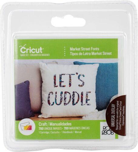 Brand New Sealed Cricut Font Cartridge-Market Street