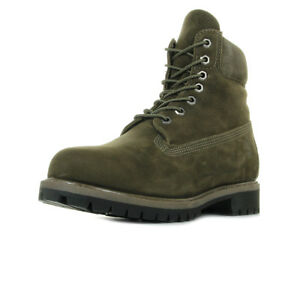 Chaussures-Boots-Timberland-homme-6IN-Premium-Bt-Olive-taille-Vert-olive-Verte