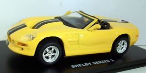 Maxi-car-1-43-Scale-20081-Shelby-series-1-yellow-black-stripes