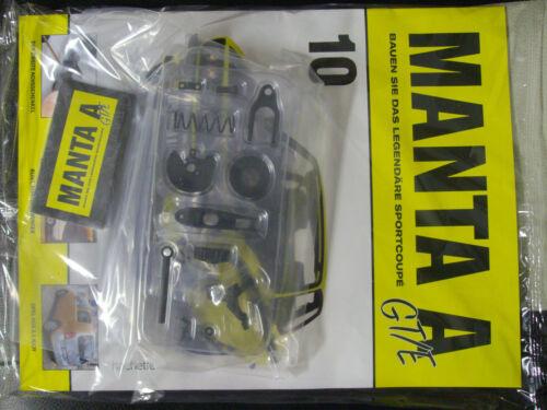 Bau das legendäre Sportcoupe Opel Manta A GT//E  Ausgaben 5-35