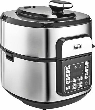 Bella Pro Series 6.5qt Air Fryer and Pressure Cooker Combo Unit
