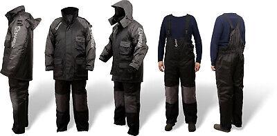 Quantum Thermoanzug 2 teilig Winter Suit Gr XXL schwarz Angelanzug Winteranzug