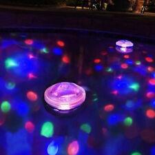 Subacqueo LED Discoteca AquaGlow Show Laghetto Piscina Vasca Galleggiante Bagno