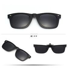 6d6d2d6b4ae Fashion Driving Polarized Mirrored Clip-on Glasses UV400 Flip-up Sunglasses