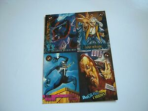 SPIDERMAN-PREMIUM-96-UNCUTSHEET-DE-4-CARDS-TRES-BON-ETAT
