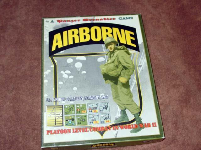Avalanche Press - AIRBORNE game    Panzer Grenadier Series - 2nd Edition (UNP)