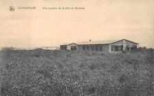 LOMBARTZYDE BELGIUM SCOLAIRE BRUSSELS WW1 MILITARY FELDPOST POSTCARD 1915