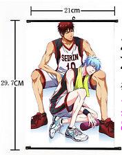 Hot Japan Anime Kuroko no Basket Wall Poster Scroll Home Decor 536