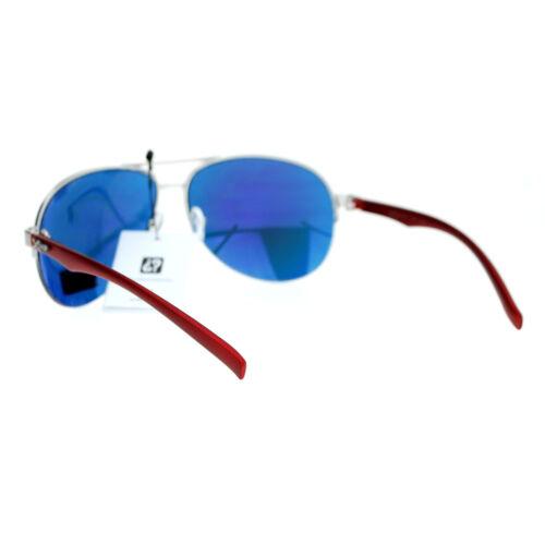 Xloop Sports Aviator Sunglasses Unisex Half Rim Aviators UV400 Protection