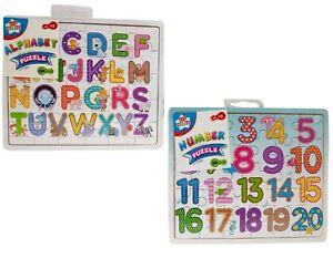 Pour Bébé Puzzle Enfants Puzzle alphabet lettres/chiffres en bois Learning Toys