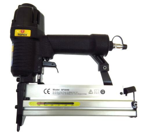 Klammern /& Nägeln Druckluft Klammergerät Nägelmaschine Set Druckluftgerät inkl