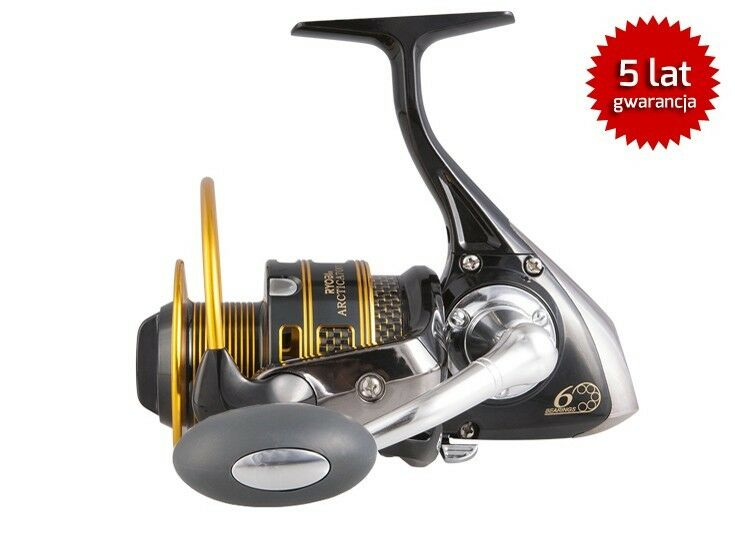 Ryobi arctica fd reel front-Drag spinning reel has fixed drum
