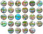 MINI FRIDGE MAGNET - UK TOWNS & CITIES (Various Designs) -  1