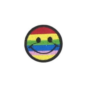 Rainbow-Smile-Iron-on-Embroidery-Applique-Patch-Sew-Iron-Badge