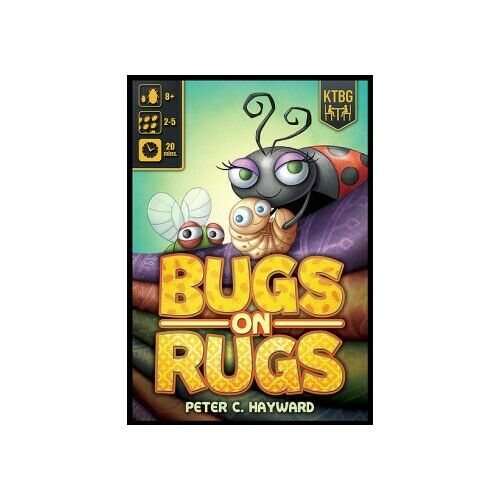 EN Kids Table Board Gaming KTG5001 Bugs On Rugs