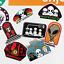 thumbnail 21 - Glossy-Skate-Stickers-Skate-Brand-Stickers-Bundles-amp-Singles-100-Designs