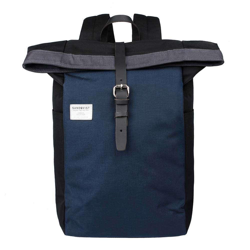 SeQVIST SILAS Rolltop BackpackMULTI NEROBLUGRIGIO 24L capacità