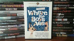 Where-the-Boys-Are-DVD-1960-Rare