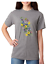 USA-Made-Bayside-T-shirt-Country-Flowers-bees-Butterfly-Butterflies-Shirt thumbnail 2