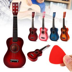 Utilería Acústica Práctica De Guitarra Musical Conjunto Madera Para Niños Acerca Regalos Mostrar Juguete Detalles Cadena KlTF1cJ