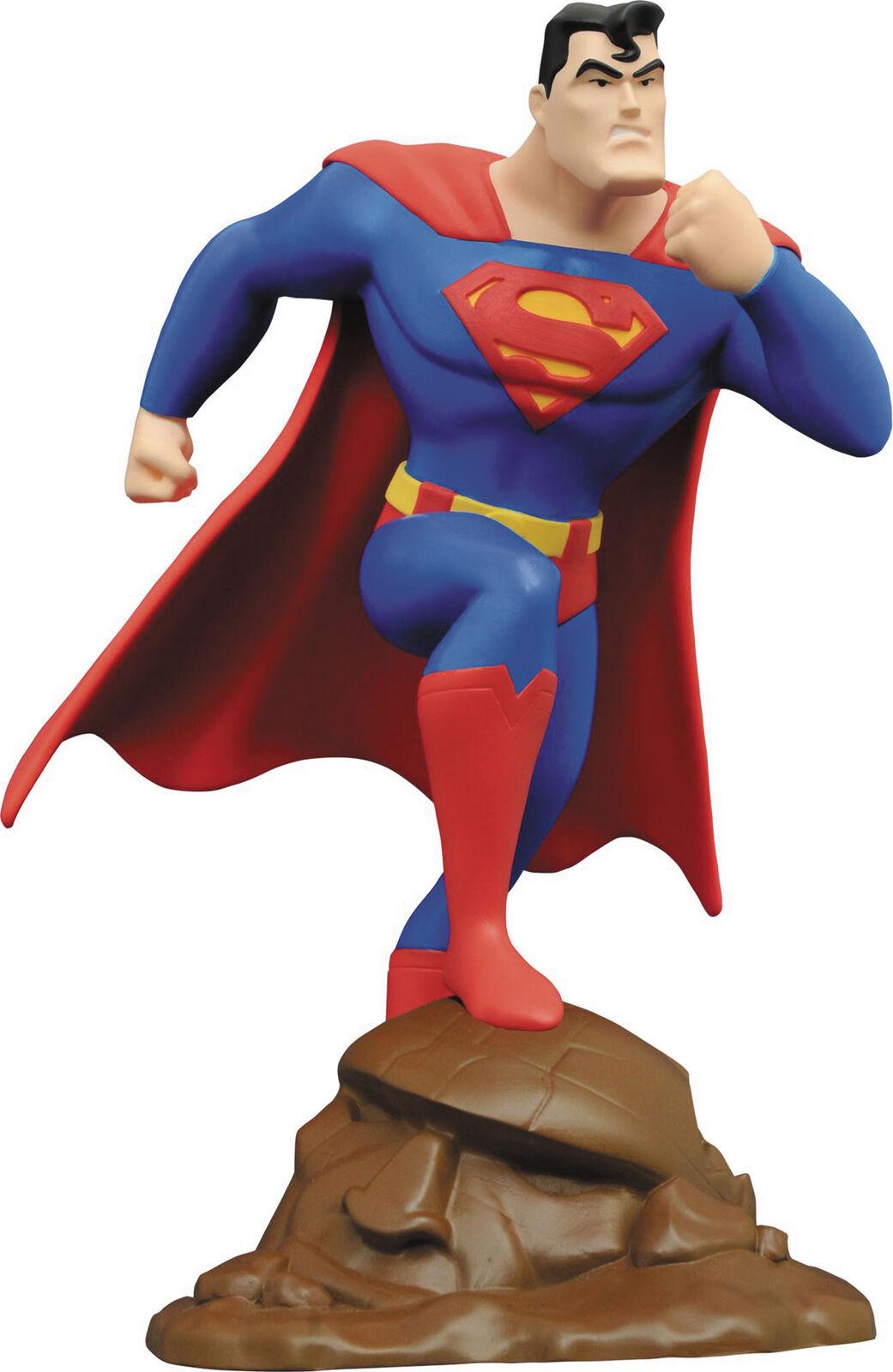 Dc diamond galerie superman tas pvc figure neue boxen