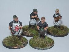SGTS MESS G24 1/72 Diecast WWII German Crew for Field Kitchen (4 Figures)
