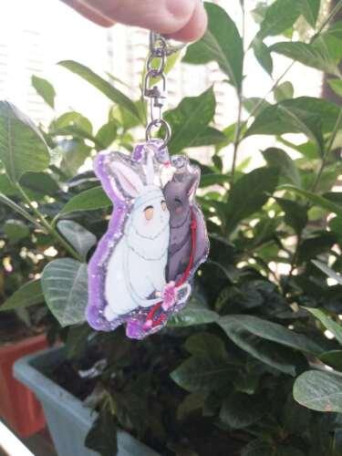 Mo Dao Zu Shi Lan WangJi Wei WuXian Rabbit Acrylic Keychain Keyring