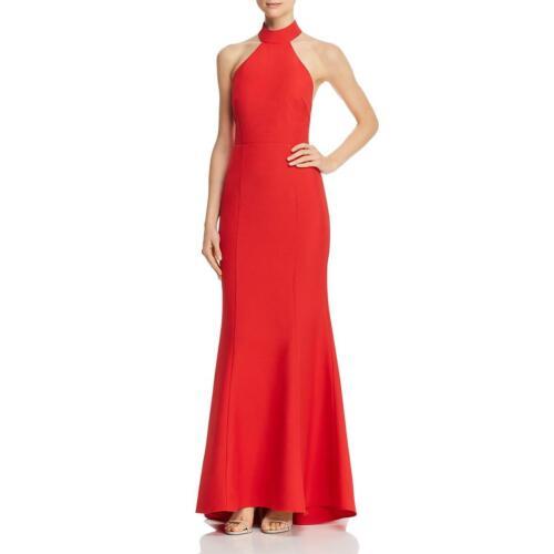 Jarlo Womens Tilly Halter Open Back Formal Evening Dress Gown BHFO 7620