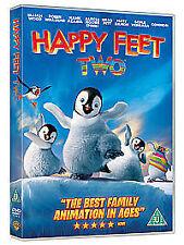 Happy Feet Two Sequel DVD 2 Elijah Wood Robin Williams Brad Pitt Eco Message VGC