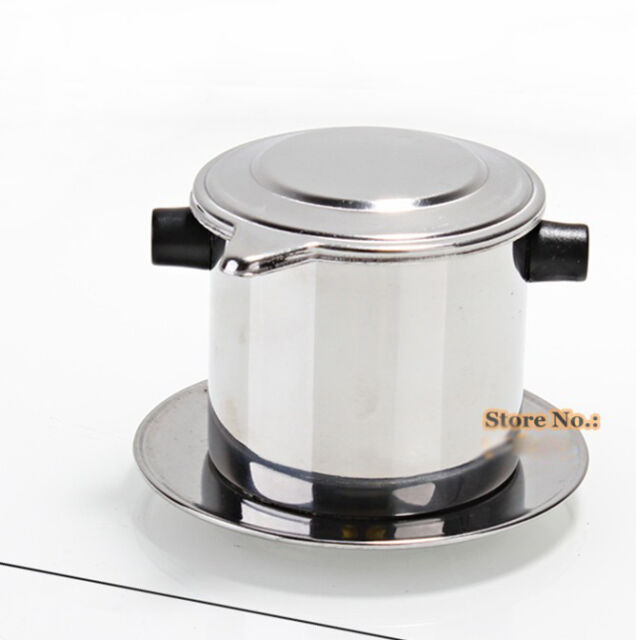Silver Drip Filter Coffee Maker Coffee Machine Perfect Quality Home Appliance