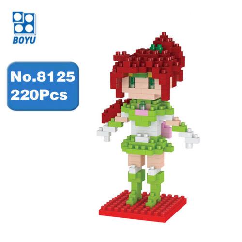 Bausteine Microblock Baukästen Modellbausätze Anime Sailor Moon Blöcke 220PCS